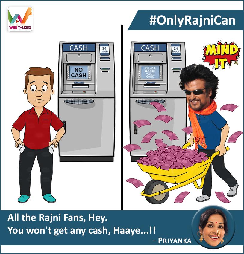#OnlyRajniCan