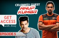 Anuj chats with Anup Kumar